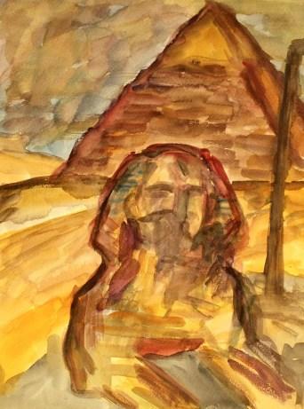 Egypt4-Sphinx von Gizeh
