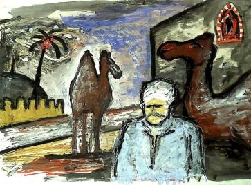 Egypt42-Quena-Kamelmarkt