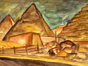 Egypt5-Pyramiden von Gizeh