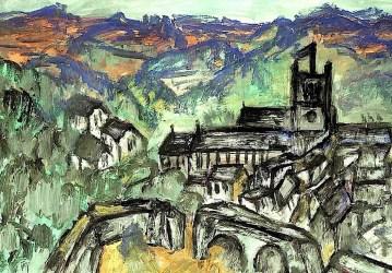 England16-Blick auf Corfe Castle