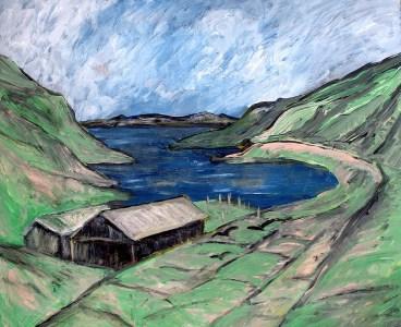 FAROE16-Oyrabakki-Bucht-Eysturoy1