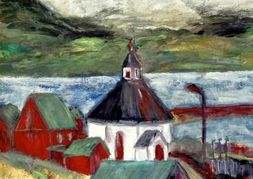 FAROE21-Kirche von Haldarvik-Sundini2