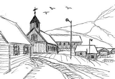 Faeroeer14-Mykines Dorfkirche