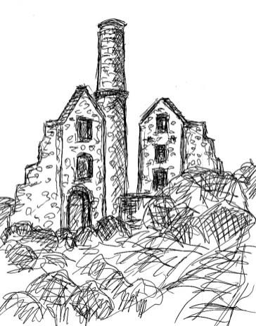 GB13 Cornwall St Just Tin Minery