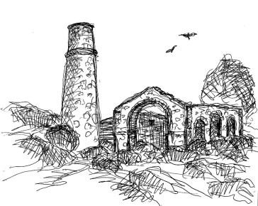 GB15 Cornwall Redruth Tin Minery2