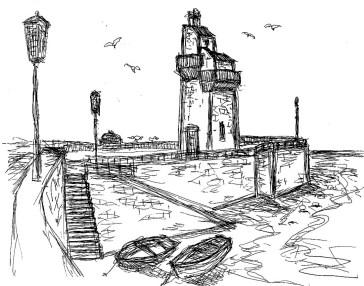 GB23 Devon Lynmouth Rhenish Tower