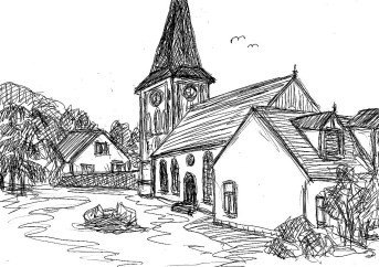 HavelSk8 Senske Dorfkirche