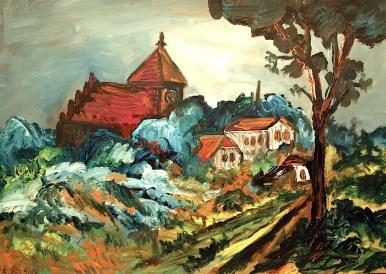 Jasmund20_Dorfkirche Bobbin
