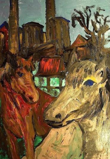 Lausitz17_Ponys in Plessa