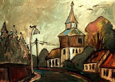 Lausitz19_Dorfkirche Groß-Jehser