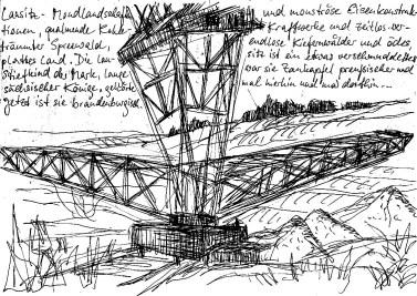 LausitzSk6 Tagebau Lichterfelde Foerderbruecke F60 2