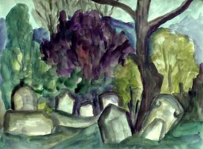 Maehren7-Mikulov-Juedischer Friedhof2