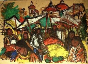 Mexico38-Indiomarkt in Oaxaca