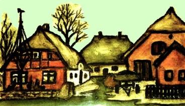 Fischerhäuser bei Gager