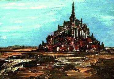 Normandie20_Blick zum Mont Saint Michel