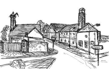 OHVSk3 Neuloegow Dorfstrasse