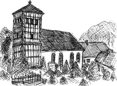 OHVSk6 Prenden Fachwerkkirche