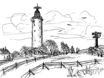 Picardie1-Leuchtturm auf Cap Gris Nez