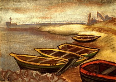 Polen6_Fischerboote auf Hel