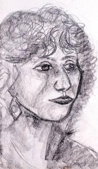 Portrait Blumenfrau II