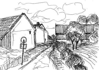 RuppinSk19 Dechtow-Dorfstrasse
