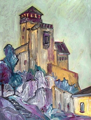 Slowak14-Burg Trencin