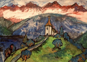 Slowenien2_Kapelle bei Jamnik