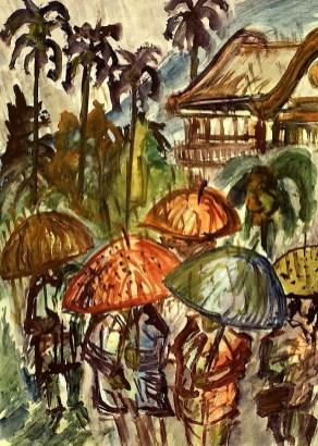 Taiwan2-Taipei im Regen