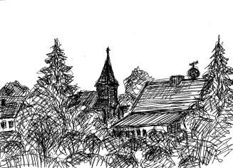 TeltowSk18 Trebbin-Schoenefelder Kirche