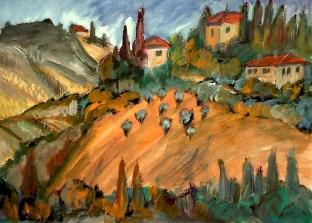 Toscana12-Weingut bei Siena