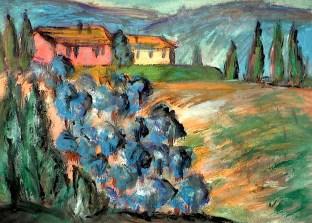 Toscana14-Weingut bei Volterra