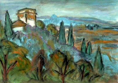 Toscana20-Villa Lenzi bei Lucca