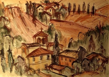 Toscana4_Bauernhoefe im Chianti1