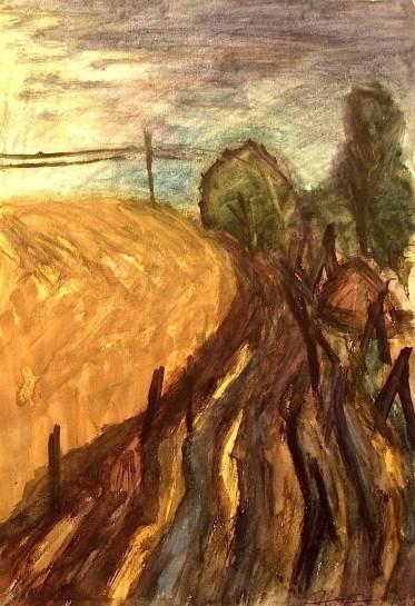 UCKERM3_Landschaft mit Kornfeldern