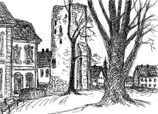 UckerSk15 Ziechow-Schloss und Turm