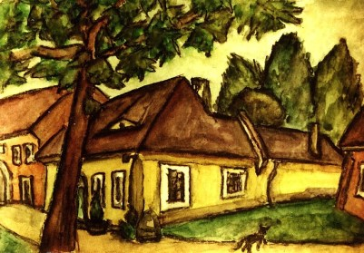 Ungarn25-Obuda-Kleine Haeuser