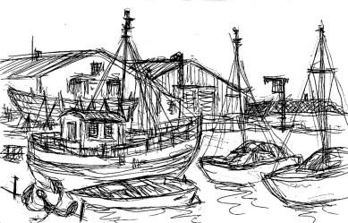 Wittow23-Im Hafen Wiek