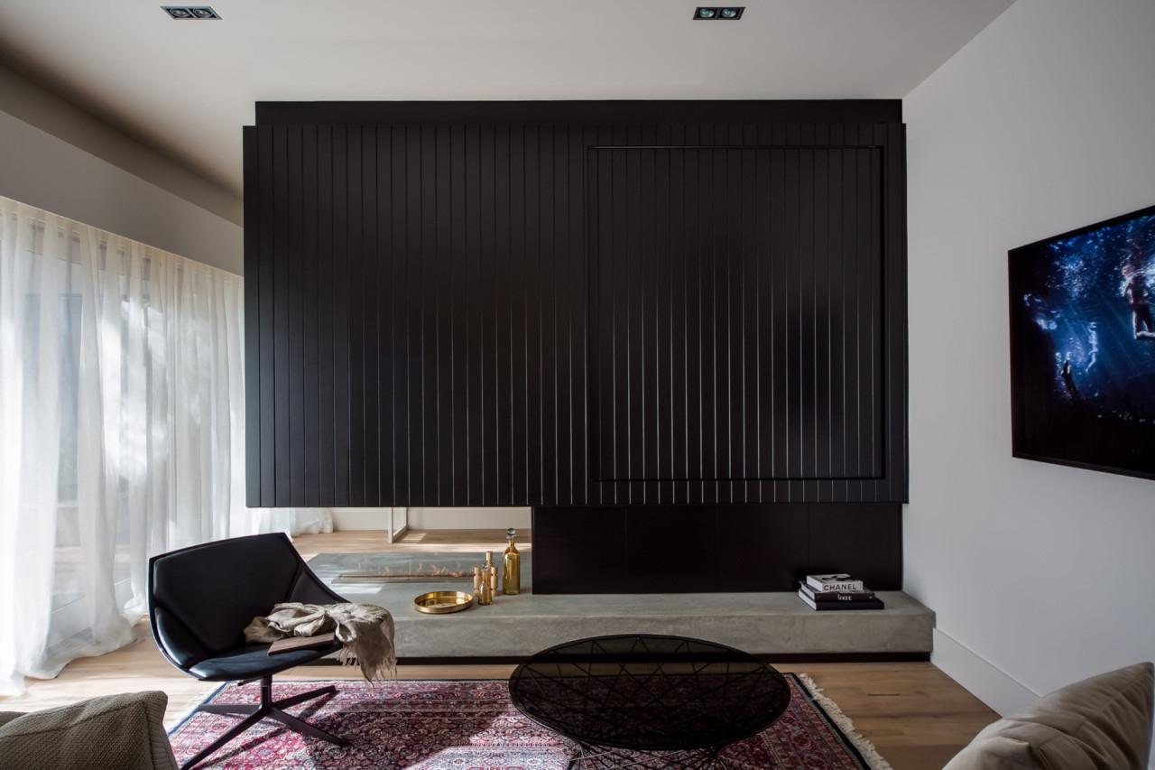 Interieur Woonkamer Zwart