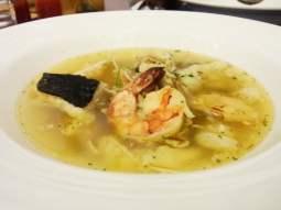 Seafood Saffron Clear Soup