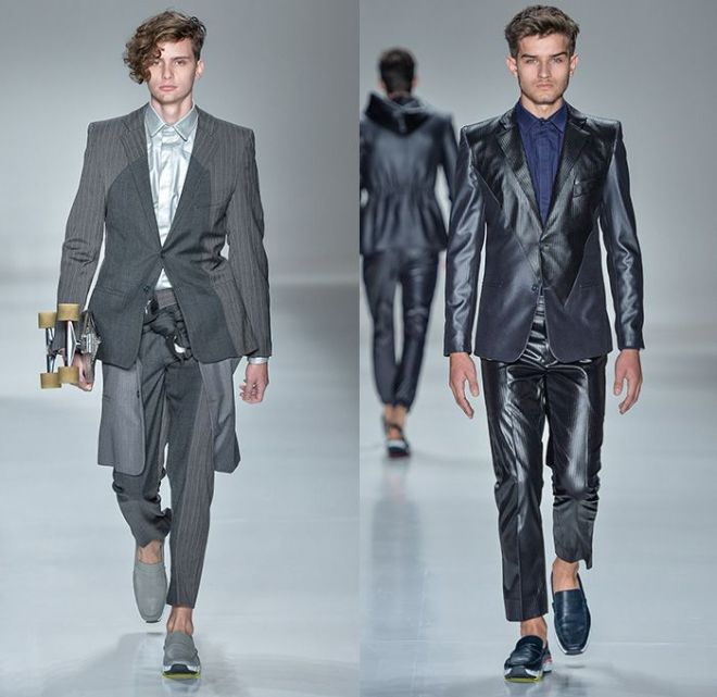 Joao Pimenta 2014-15 summer mens runway looks