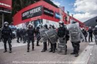 Ausschreitungen bei Demonstrationen gegen die Grenzkontrollen - 07.05.2016 (12 von 28)