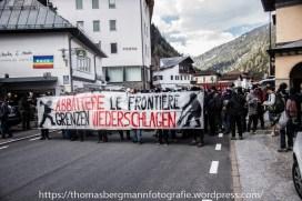 Ausschreitungen bei Demonstrationen gegen die Grenzkontrollen - 07.05.2016 (2 von 28)