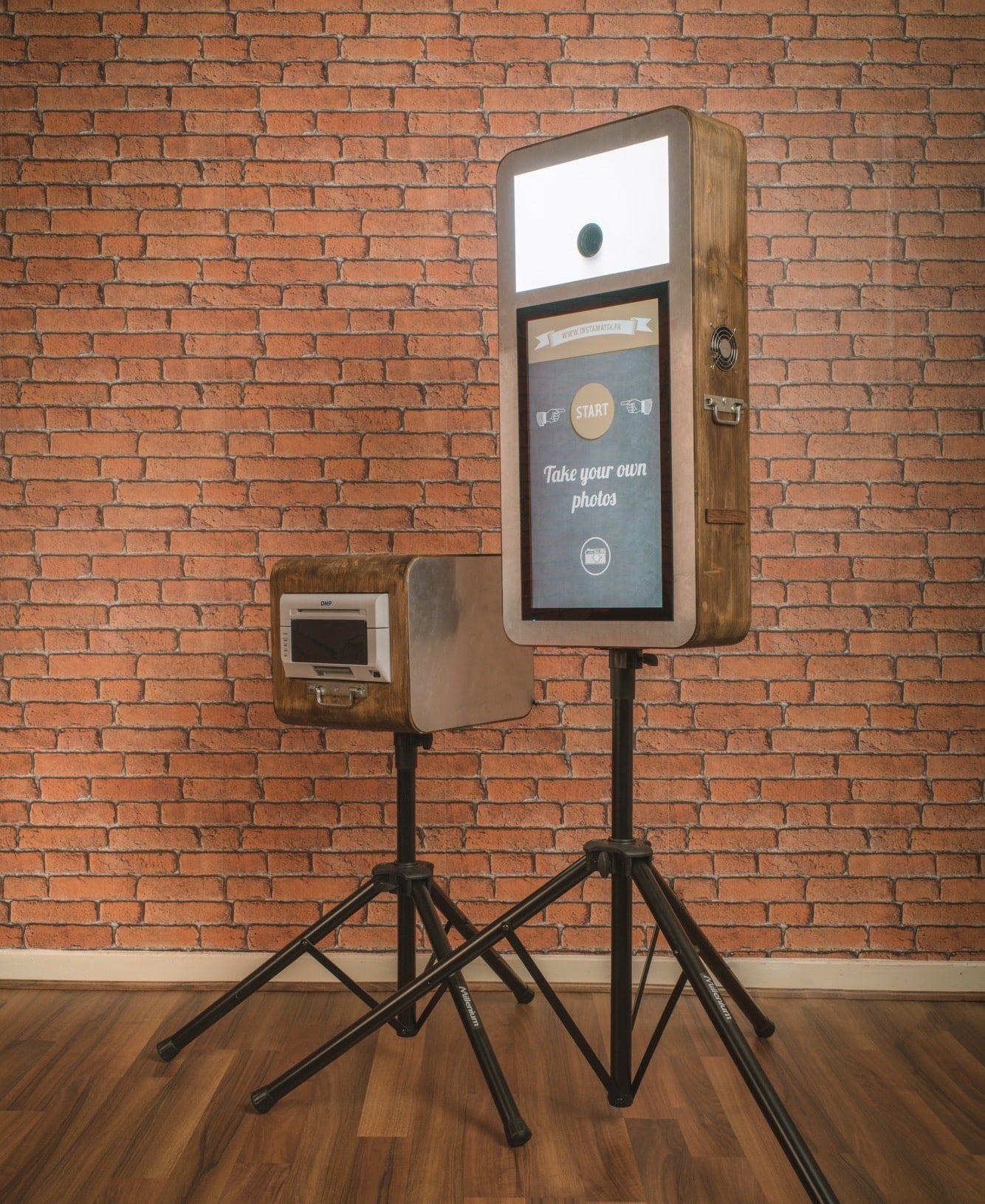 La Machine Photo - Location Photo Booth Autonome Marseille Provence