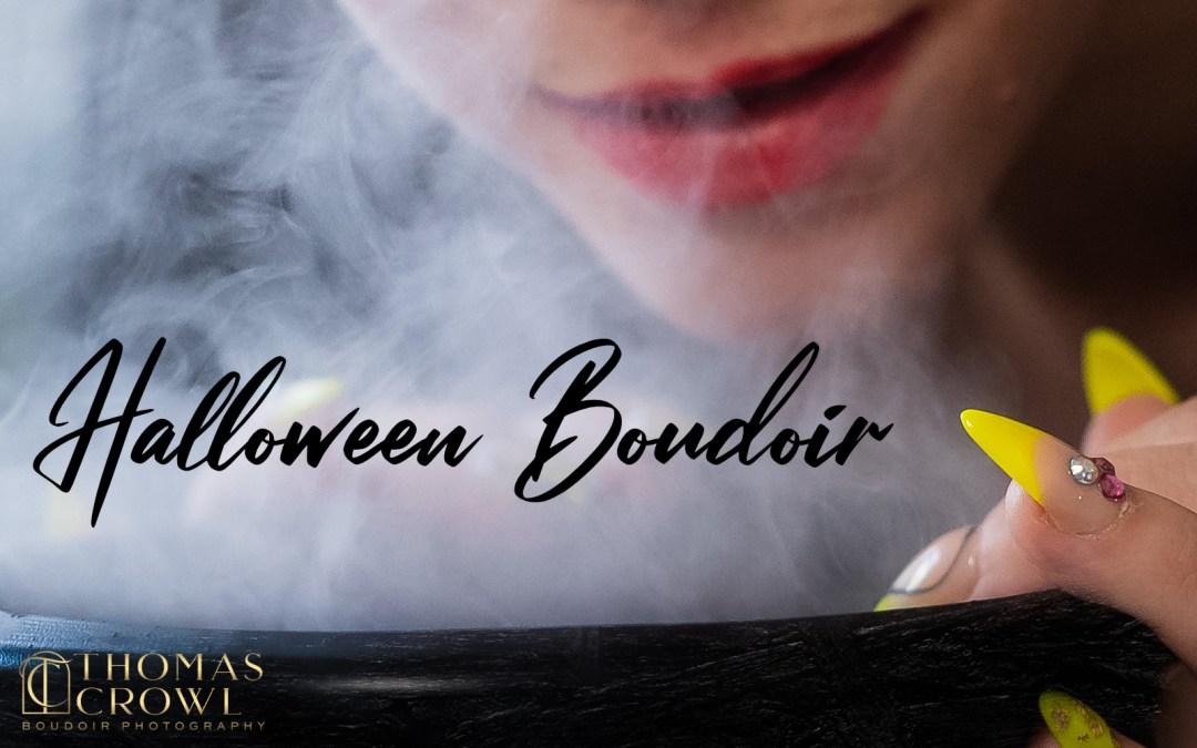 Halloween Boudoir Or Should I Say Boo-Doir?
