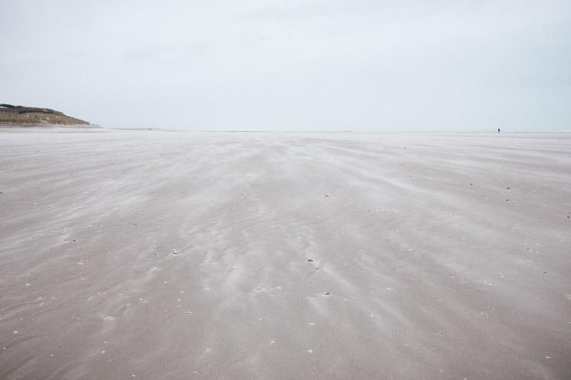 Baie de Somme : plage de Berck