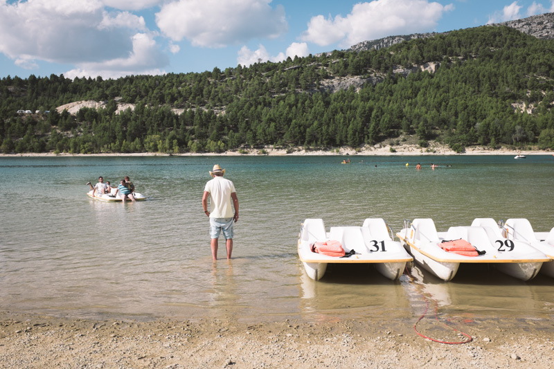 Projet 52 - le lac de Sainte-Croix