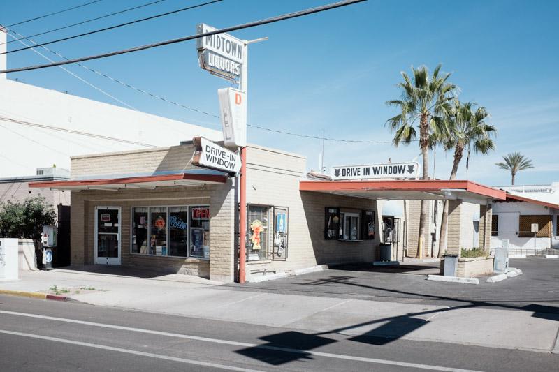 Ouest Américain - Tucson - Drive-In