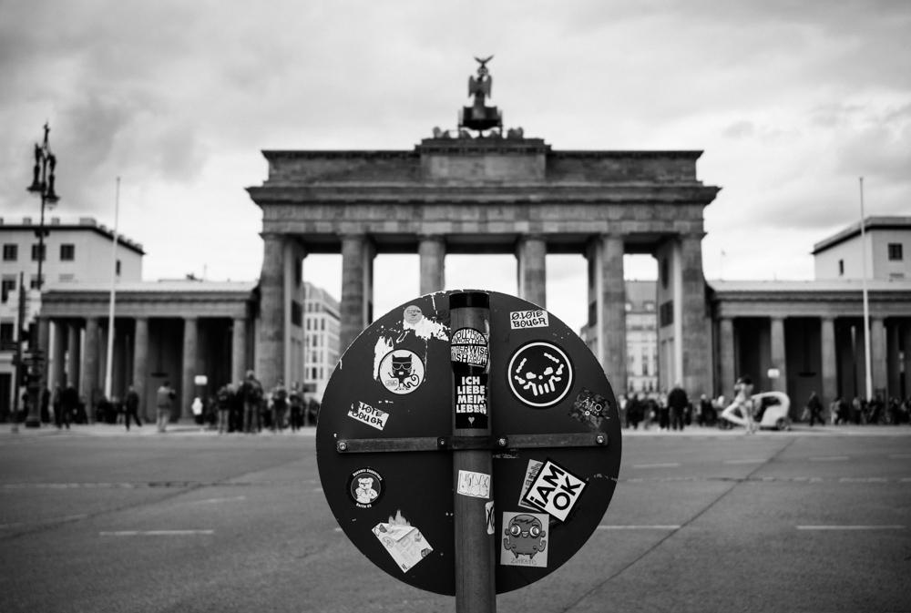 Berlin : porte de Brandebourg