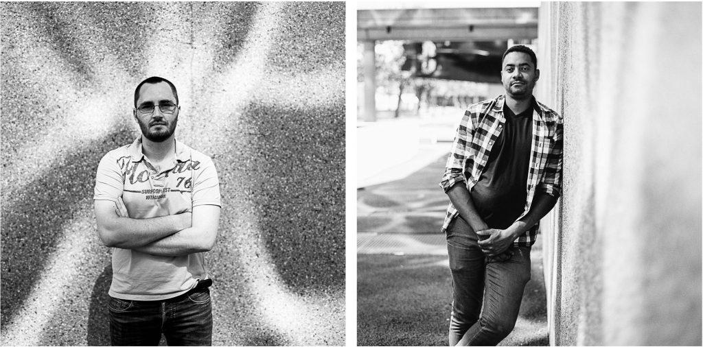 portraits de photographes avec le Bronica SQ-A