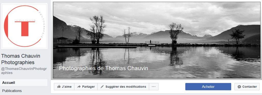 Partager sur les réseaux sociaux : ma page Facebook